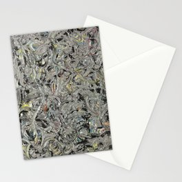 Jackson Pollock Eyes in the Heat Stationery Cards