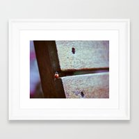 climbing Framed Art Prints featuring Climbing by Agnes Andes