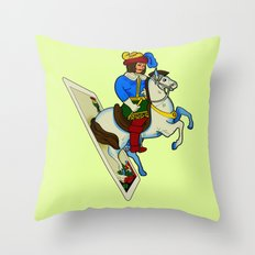 LAST CARD IN THE DECK Throw Pillow