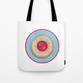 Raspberry Linzer Torte Tote Bag