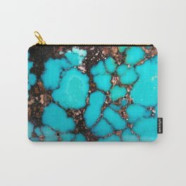 Macro Turquoise Carry-All Pouch