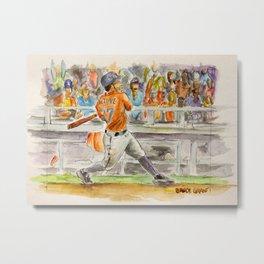 José Altuve - Pro Baseball Player Metal Print