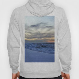 Icy Sea at Sunset Hoody