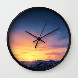 Black Seas of Ackosin Wall Clock