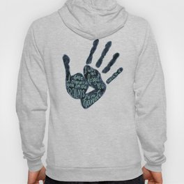 Isaiah 49:16 - Palms of his hands Hoody