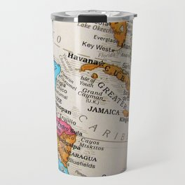 Map Art Travel Mug