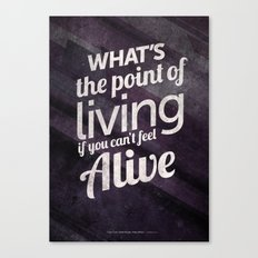 What's the point Canvas Print