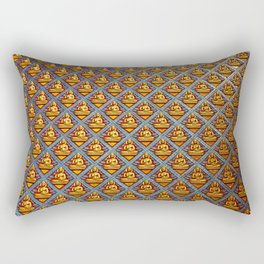 Buddha Wall Rectangular Pillow