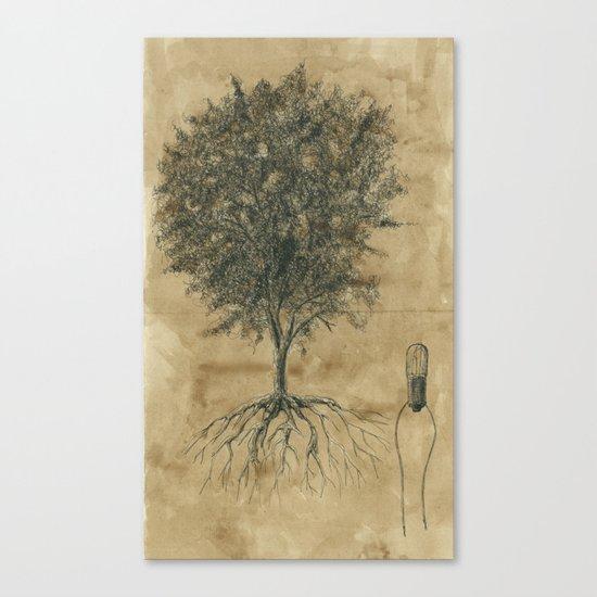 Artificial tree N.04 Canvas Print