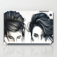 hair iPad Cases featuring Hair by KatePowellArt