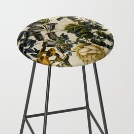 Warm Winter Garden Bar Stool