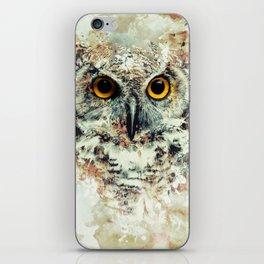 Owl II iPhone Skin
