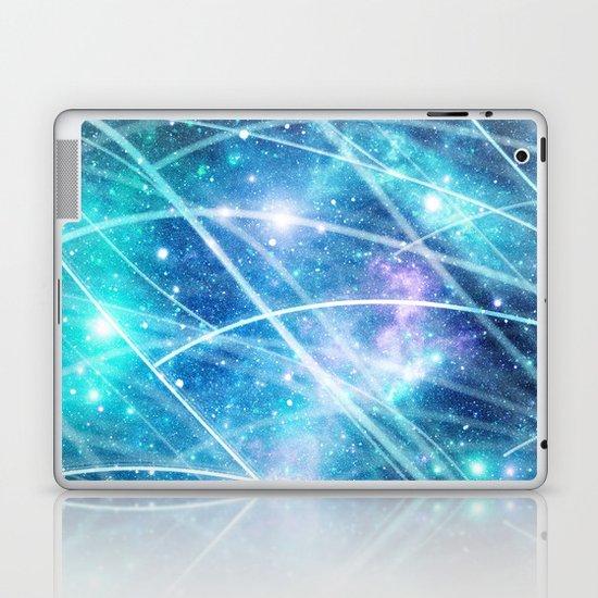 Gundam Retro Space 3 - No text Laptop & iPad Skin