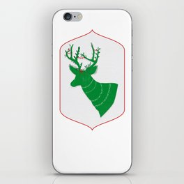 Green Stag iPhone Skin