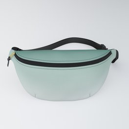 Ombre Viridian Sea Green Fanny Pack