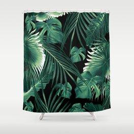 Tropical Jungle Leaves Dream #6 #tropical #decor #art #society6 Shower Curtain