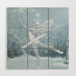 Snow Dancer Wood Wall Art
