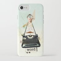 word iPhone & iPod Cases featuring Word by zando & jot
