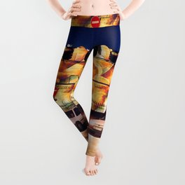 Holiday Lighting, Biarritz Leggings