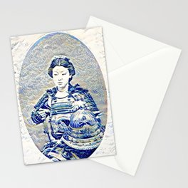 """The New Wave"" Onna-bugeisha Stationery Cards"