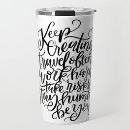The Creative Process Travel Mug