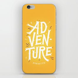 Adventure Awaits iPhone Skin