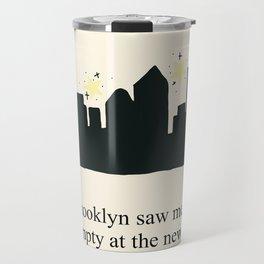 Harry Styles Ever Since New York illustration Travel Mug