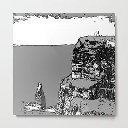 Cliffs of Moher - Tourist attractions of Ireland Metal Print