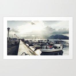 Puerto Princesa Art Print