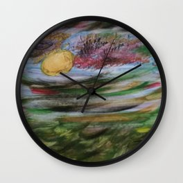 Tumultuous Clouds Wall Clock