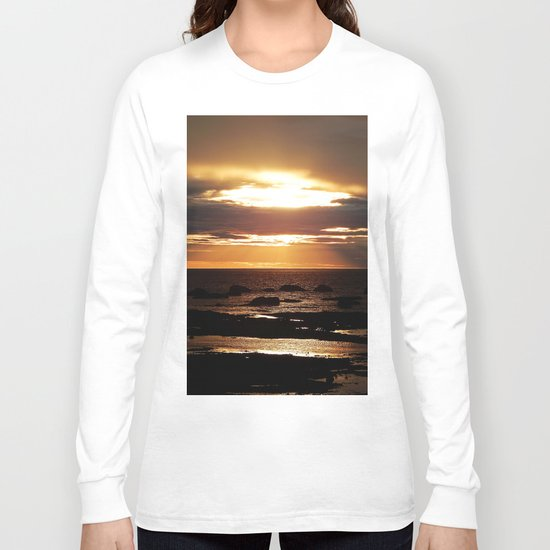 Copper Seascape Delight Long Sleeve T-shirt