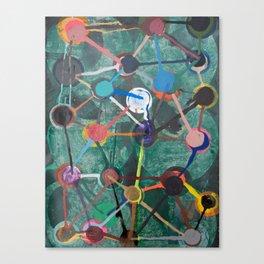 teaberry shuffle Canvas Print