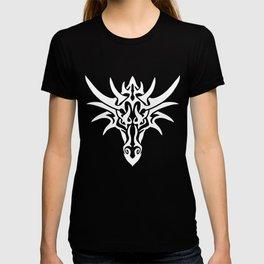 White Dragon Tribal T-shirt