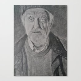 Wilfred Mott, Donna Noble's grandad from Doctor Who Canvas Print