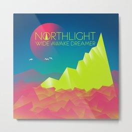 NORTHLIGHT Wide Awake Dreamer Artwork Metal Print