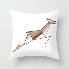 Springbok Throw Pillow