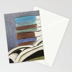 Books - Pastel Illustration Stationery Cards
