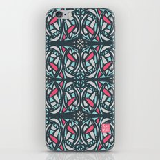 Stained Glass Tile iPhone & iPod Skin