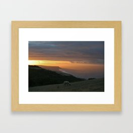 Coastal Sunrise Framed Art Print
