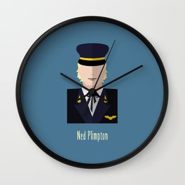 Ned Plimpton Wall Clock