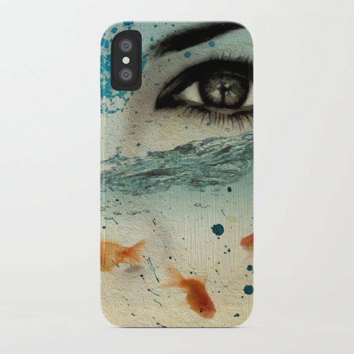 tear in the ocean iPhone Case