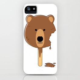 Bear Ice Cream iPhone Case