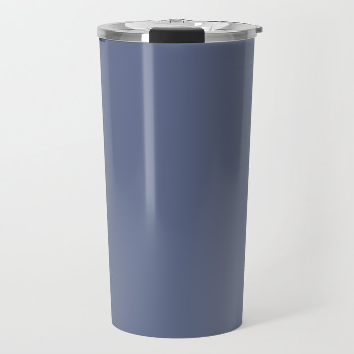 Royal Powder Blue Pairs With Farrow and Ball - Pitch Blue - Cobalt Blue 220 - Accent to Arsenic 214 Travel Mug