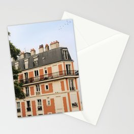 paris house Stationery Cards