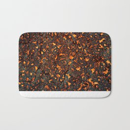 A texture of lava. A raster illustration. Bath Mat