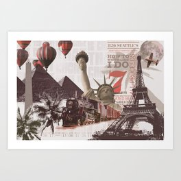 Multicultural Art Print