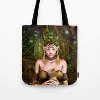 wizard Tote Bags featuring Wizard by Loveit Designs