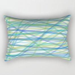 COLORS OF THE OCEAN PATTERN by gail sarasohn Rectangular Pillow