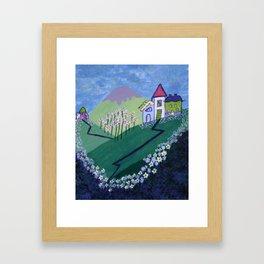 Tiny Houses Framed Art Print