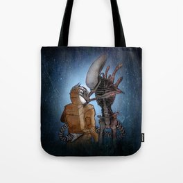 ALIEN (XENOMORPH) ILLUSTRATION Tote Bag